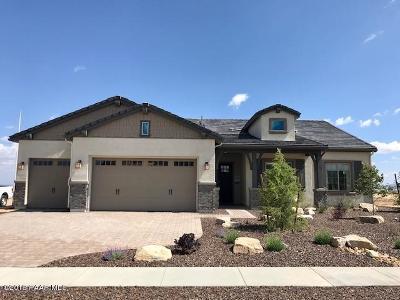 Prescott AZ Single Family Home For Sale: $618,719