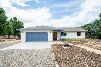 Chino Valley Single Family Home For Sale: 645 Dueno Drive
