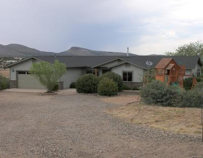 Chino Valley Single Family Home For Sale: 3630 W Rainbow Drive