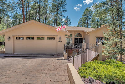 Prescott Single Family Home For Sale: 1960 Coyote Road