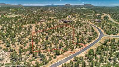 Prescott, Prescott Valley, Chino Valley, Dewey-humboldt Residential Lots & Land For Sale: 12780 W Cooper Morgan Trail