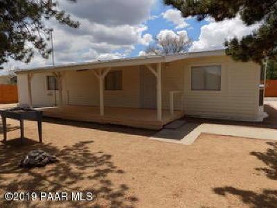 Prescott, Prescott Valley, Chino Valley, Dewey-humboldt Mobile/Manufactured For Sale: 1635 Palo Verde Drive