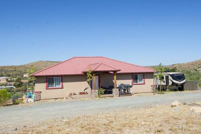 Mayer Single Family Home For Sale: 19899 E Stagecoach Trail