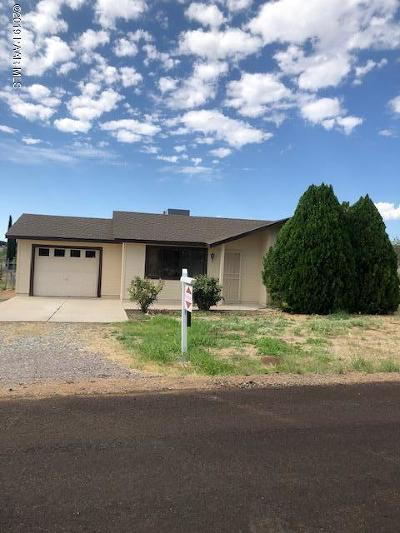 Mayer Single Family Home For Sale: 19831 E Prickly Pear Drive