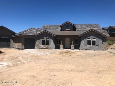 Prescott Single Family Home For Sale: 1586 Estancia Way
