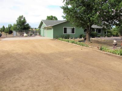 Paulden Single Family Home For Sale: 600 W Rolling Hills Road