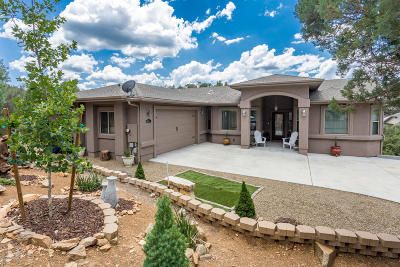 Prescott Single Family Home For Sale: 4961 Bear Way
