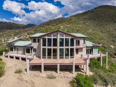 Prescott Single Family Home For Sale: 6001 W Copper Basin Road