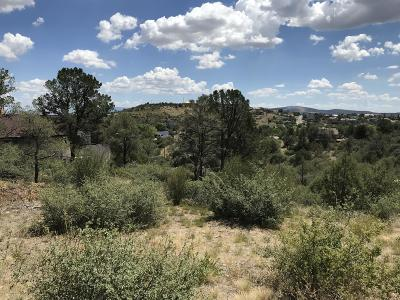 Prescott AZ Residential Lots & Land For Sale: $49,500