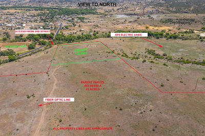 Dewey-Humboldt Residential Lots & Land For Sale: 3023 3rd (Part Of) Street