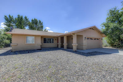 Prescott Valley Single Family Home For Sale: 4857 N Arnold Drive