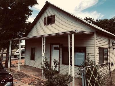 Ash Fork Single Family Home For Sale: 47201 N 2nd Street