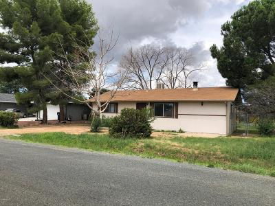 Prescott Valley Single Family Home For Sale: 3842 N Dale Drive