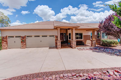 Prescott Single Family Home For Sale: 255 Point Of View