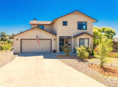 Prescott Valley Single Family Home For Sale: 6017 Winchester Drive