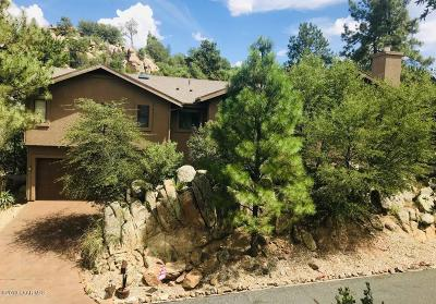 Prescott Single Family Home For Sale: 1925 Crossroads