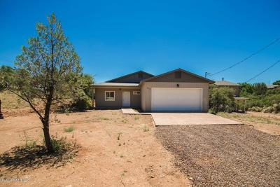 Prescott AZ Single Family Home For Sale: $315,000