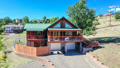 Prescott AZ Single Family Home Pending - Take Backup: $279,000