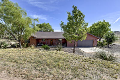Chino Valley Single Family Home For Sale: 5130 E Haystack Road