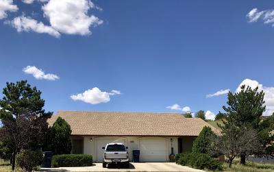 Prescott Valley Multi Family Home For Sale: 9300 E Lakeshore Drive