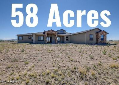 Prescott Valley Single Family Home For Sale: 10671 N Steel Road