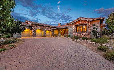 Prescott Single Family Home For Sale: 15055 Meander Mountain Way