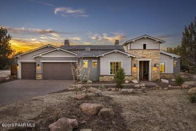 Prescott Single Family Home For Sale: 5375 W Meem Lane