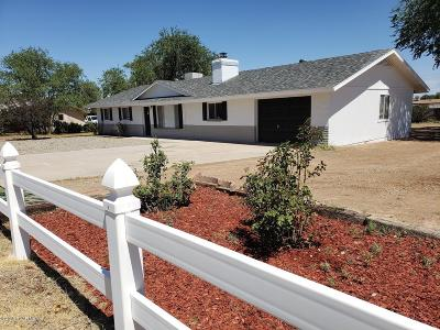 Chino Valley Single Family Home For Sale: 963 E Damion Loop