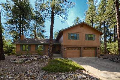 Prescott Single Family Home For Sale: 1145 E Timber Ridge Road