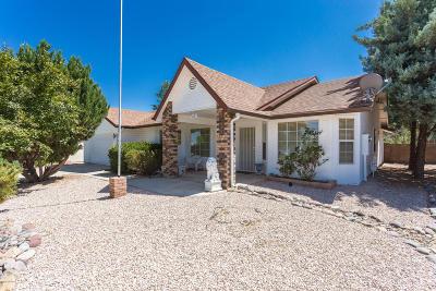 Prescott Valley Single Family Home For Sale: 7113 N Sunrise Vista