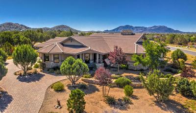 Prescott Single Family Home For Sale: 5615 W Saloon Trail