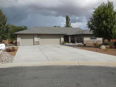 Prescott Valley Single Family Home For Sale: 7920 E Lost Horse Circle