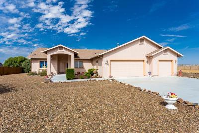 Prescott Valley Single Family Home For Sale: 8730 N Powderhorn Lane