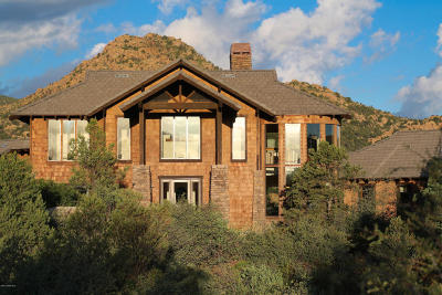 Prescott AZ Single Family Home For Sale: $899,999