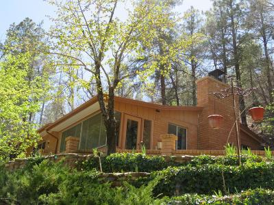 Mayer Single Family Home Pending - Take Backup: 8070 S Breezy Pine Road