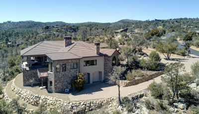 Prescott AZ Single Family Home For Sale: $2,295,000