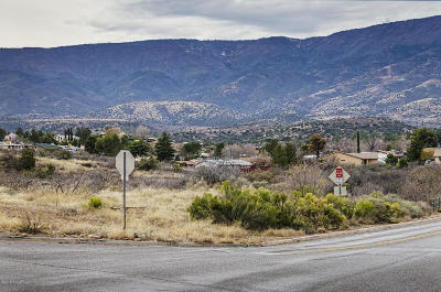 Cottonwood AZ Residential Lots & Land For Sale: $375,000