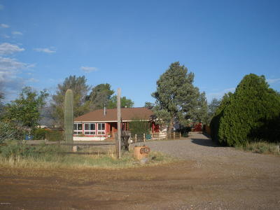 Camp Verde Single Family Home For Sale: 1512 N Montezuma Heights Rd