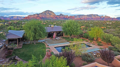 Sedona, Camp Verde, Cornville, Cottonwood, Lake Montezuma, Prescott, Prescott Valley, Rimrock Single Family Home For Sale: 2975 Red Hawk Lane