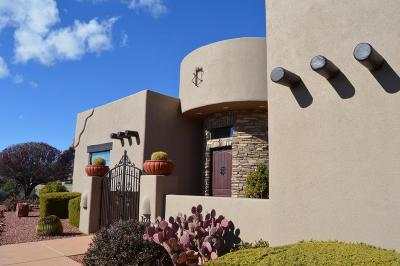 Sedona Single Family Home For Sale: 10 High View Drive