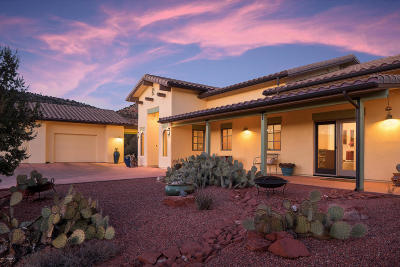 Sedona AZ Single Family Home For Sale: $935,000
