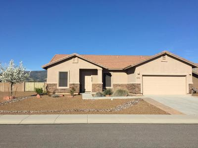 Camp Verde Single Family Home For Sale: 555 S Hitching Post Drive