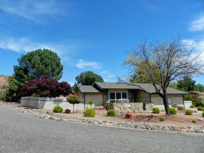 Sedona Single Family Home For Sale: 111 E Lindsay Way