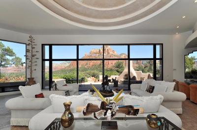 Sedona Single Family Home For Sale: 814 W Chapel Rd
