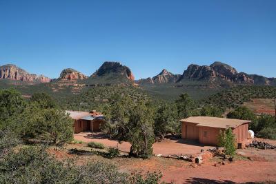 Sedona, Camp Verde, Cornville, Cottonwood, Lake Montezuma, Prescott, Prescott Valley, Rimrock Single Family Home For Sale: 25 Calle De Vickers