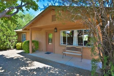 Cottonwood AZ Single Family Home For Sale: $259,500