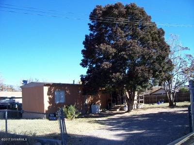 Cottonwood AZ Multi Family Home For Sale: $122,000