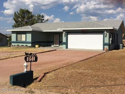 Camp Verde Single Family Home For Sale: 651 Oasis Rd