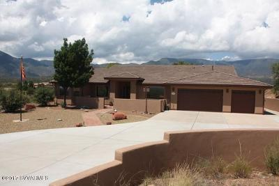 Yavapai County Single Family Home For Sale: 3040 S Loreto Tr