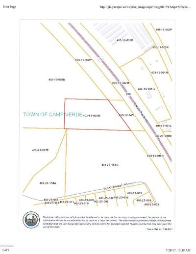 Camp Verde Residential Lots & Land For Sale: 3500 W State Route 260